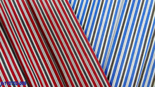 100% cotton fabrics stripe collection in bulk