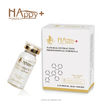 No synthetic chemicals, preservatives, fragrance Happy+ QBEKA anti-aging firming serum instant face lift serum