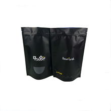 China suppliers custom matt surface foil mylar zip lock food bags with logo