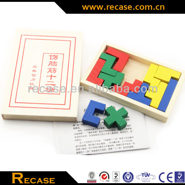 2014 New wooden dominoes for kids, hot sale color wooden domino games