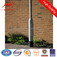 6m 8m 10m 12m conical residential light poles drawing and specification ,cost effective residential light poles