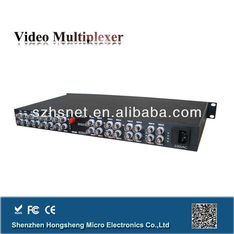 32 Channel single mode Analog Video Transmitter