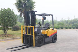 manufacturer sale 3 ton diesel forklift weight for sale FD30 Isuzu C240 engine with CE