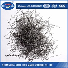 Wavy Rippled Steel Fiber For Road Overlays and Highway Pavements