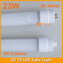 LED Fluorescent Retrofit 23W Shenzhen Factory Direct Sale Price G5 Led Tube Light T8