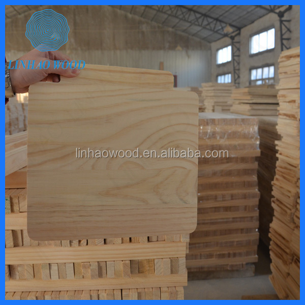 factory price solid wood boards furniture parts