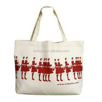 Modern hot sell city name printed canvas tote bag