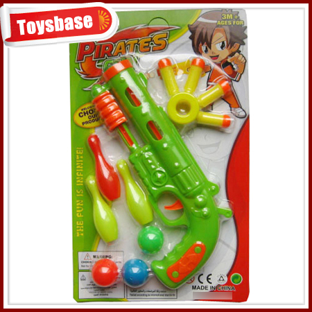 Children soft bullet toy gun target