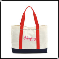 heavy duty 100% cotton canvas tote bag for promotion (91050)
