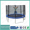 Hot selling Galvanized steel tube bungee 10ft trampoline with safety net
