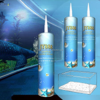 Low Price Big Fish Tank Multi-purpose Acetoxy Silicone free Sealant