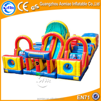 High Quality inflatable obstacle,cheap inflatable obstacle course,inflatable floating obstacle