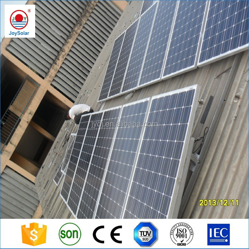 adjustable roof mount solar panel system solar grid-tied system