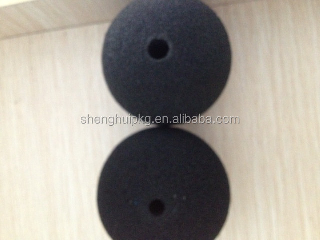 Flexible high density custom foam toy balls hollow rubber ball