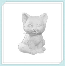 Fiona The Kitten - unpainted Ceramic - Unfinished Low-Fire Ceramic Bisque