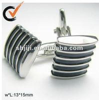 2012 Hot Sell Black Enamel Jewelry Cufflink