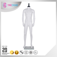 Movable free headless man mannequin