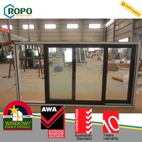 Unique Design Hot Sale interior sliding glass window