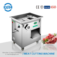 Italian blade manual pork skin slicer bowl chopper small portable frozen cubing meat steak cutting machine for sale