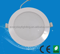 IP 54 Ultra Thin Round LED Flat panel light Ceiling Downlight Bathroom Kitchen Hotel