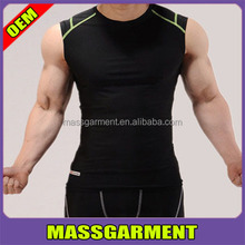 Brand Men's Sports Athletic t shirt Tops Compression UnderShirt Base Layer Short Sleeve T-Shirt For Running Basketball