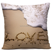 Custom made printed beautiful high quality love pillow