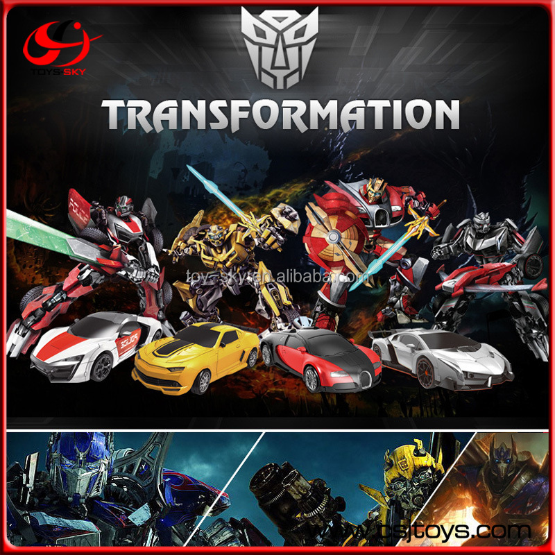 Multifunctional 1:14 best kids Remote control Gravity Sensor fighting tobot transforming robot toy with Music Dancing and Light