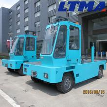 LTMA high quality 3 ton electric side loader forklift with battery