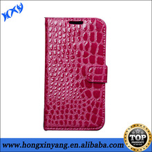Fashion Crocodile Leather Case for Samsung Galaxy S5 Stand Flip Cover
