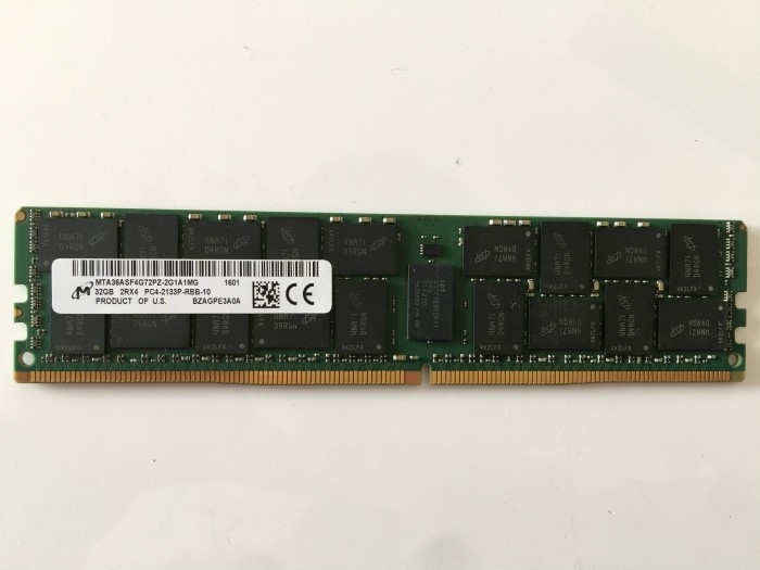 ddr4 32GB for Dell PC4-17000 DDR4-2133 288-pin ECC RDIMM (p/<strong>n</strong> for DELL-32GB-DDR4-2133R) on alibaba SY