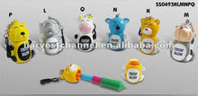 Cute Animal Shaped Extendable Ballpen
