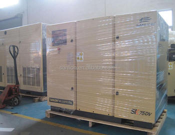 2017 energy saving 8bar 55kw screw air compressor price for sales