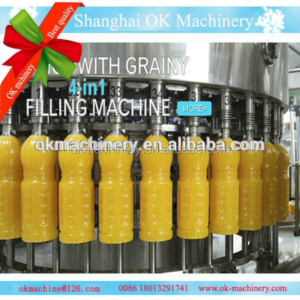 KJ-06 fruit juice filling machine/fruit juice making machine