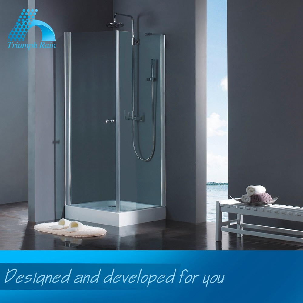 Affordable Price Popular Design Glass Partition For Shower Room Bathroom Sanitary Ware