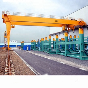 2-32t 30m Semi Gantry Crane Price 25t 10t (The Third Generation)