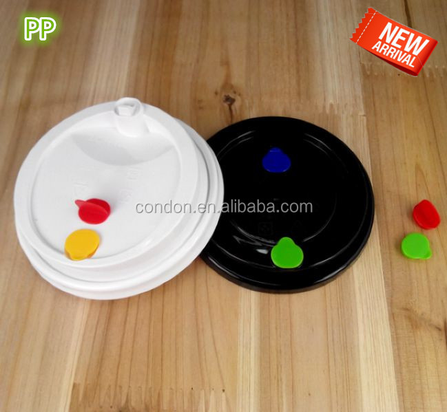 NEW STYLE PP PLASTIC LID FOR PAPER COFFEE CUPS