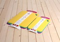 Best price color coded chopping board thin cutting board plastic cutting mat set