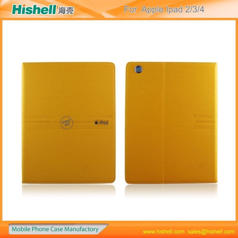 magnetic leather pu smart slim stand cover for ipad2/3/4