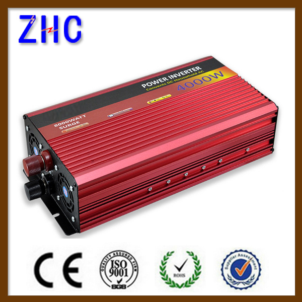 4kw modified sine wave power home ups inverter 4000w 24v 220v