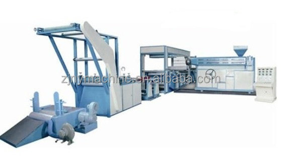 paper and pp woven bag extrusion coating laminating machine