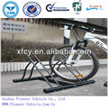 strong and durable rust prevention surface mount cycling parking rack