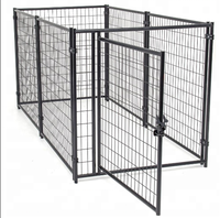 hebei cage for used dogs / welded wire mesh dog cage / dog run kennel