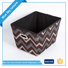 Waterproof PP Non-woven Fabric Storage Bins Multipurpose Storage Box Lead Lined