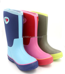 Fashion 4MM Neoprene & Rubber 3 Colors Ladies Boots Keep Warm Winter Boots/Snow Boots With Sturdy Outsole