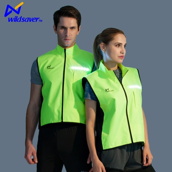 2016 Outdoor Safety LED Flashing cycling clothing custom cycling jerseys