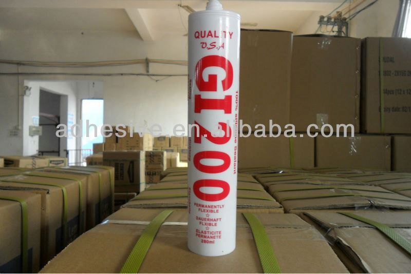 Environmental Friendly Closed Cell Silicone Sealant For Wood Glass