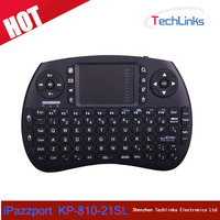 iPazzPort 2.4G Mini Wireless Handheld KP-810-21SL Remote Control Keyboard Mouse Touchpad For Android Smart TV Box
