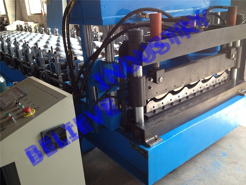 Customized Steel Lower cost metal tile Roll Forming Machine