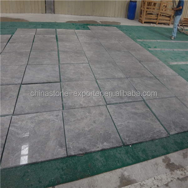 NEW grey marble aran blue blue marble veined