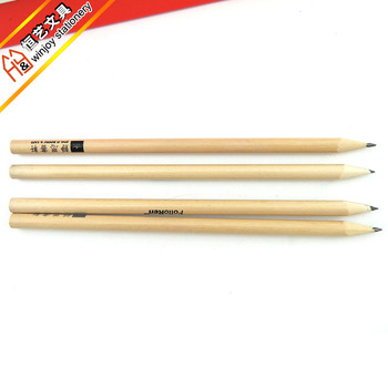 OEM Custom logo natural wooden Pencils